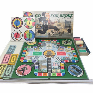 Vintage 1985 Go For Broke Classic Board Game Selchow & Righter No. 58